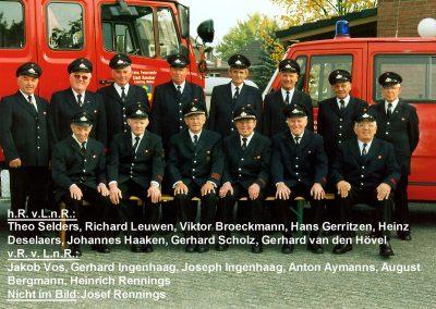 Gruppenfoto Altersabteilung 2006